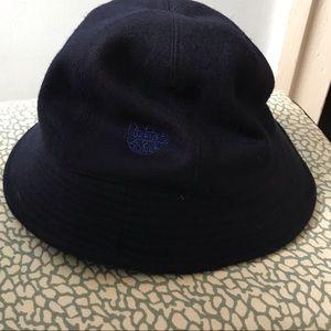 Wool navy blue VUARNET bucket hat